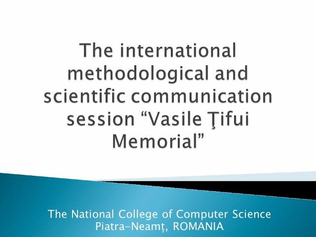 Click pentru Programul Sesiunii Online